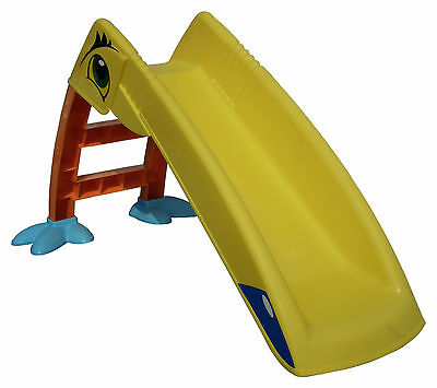 Kids Orange & Yellow Bird Slide & Steps Set Childrens Garden Play Area Ages 3-10