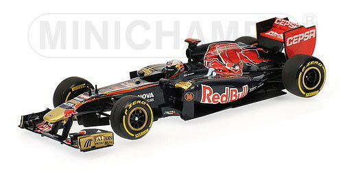 MINICHAMPS FORMULA 1 TORRO red JE VERGNE SHOWCAR 2012-CODE 410 120087