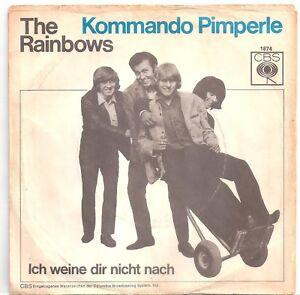 """THE RAINBOWS : KOMMANDO PIMPERLE / ICH WEINE DIR NICHT NACH CBS 1874 VINYL 7"""" - Berlin, Deutschland - THE RAINBOWS : KOMMANDO PIMPERLE / ICH WEINE DIR NICHT NACH CBS 1874 VINYL 7"""" - Berlin, Deutschland"""