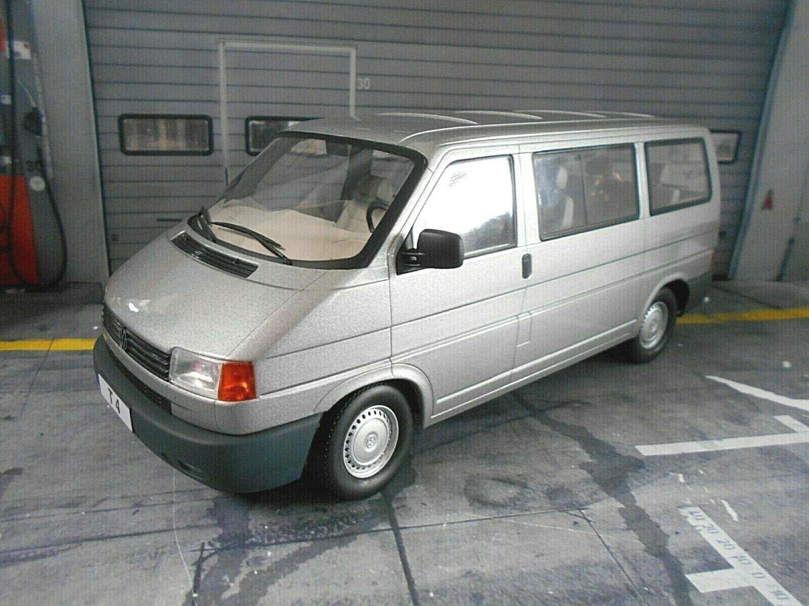 Volkswagen VW t4 Cocheavelle autobús fensterbus gris gris 1992 KK scale 1 18