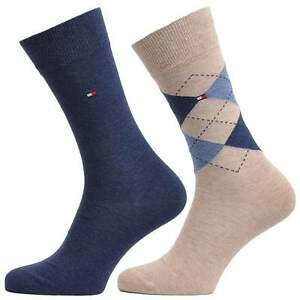 2 Pack Striped Socks UK6-9 - Sales Up to -50% Tommy Hilfiger