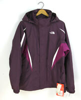 The North Face Sz Xl Purple Combo Fer Sure Triclimate Hyvent Womensn Jacket