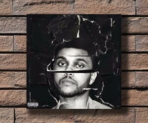 Y780 The Weeknd Beauty Behind the Madness Music Rapper Fabric Poster 16x16 24x24