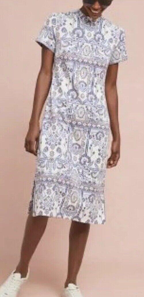 11. Anthropologie Rare Lea Embrodered Dress M 5 Stars  New Rare