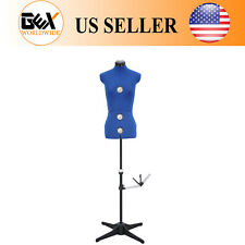 GEX 13 Dials Adjustable Dress Form Sewing Female Mannequin Torso Stand Small