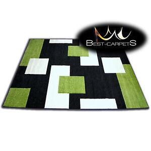 epais-Tapis-Modernes-039-Pilly-039-Tapis-Original-herbe-verte-carreaux-Tapis-pas-cher