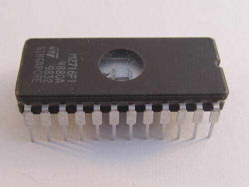 uv EPROM 450ns-a13//8811-c402 M2716f1 stm NMOS 16 Kbits 2kb x 8