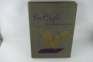 Vtg-1952-Tennessee-Polytechnic-Institute-Tech-The-Eagle-Yearbook-DOTTIE-WEST