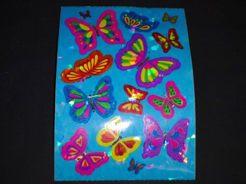 SandyLion sticker sección 90s Big Prismatic mariposas sticker album cromos