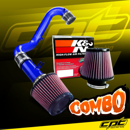 K/&N Air Filter 01-05 Civic DX//LX Manual 1.7L Blue Cold Air Intake