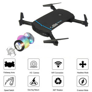 Foldable-Selfie-Drone-With-Wifi-FPV-720P-HD-Camera-2-4G-6-Axle-RC-Quadcopter-Toy