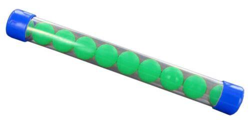 NEW Legione rubberballs//PALLINE GOMMA cal.68-10 pezzi-verde