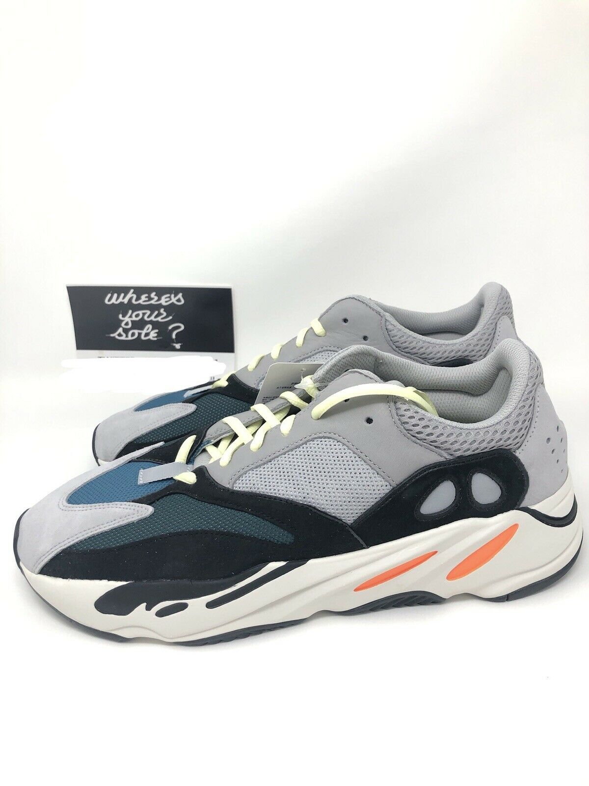 Adidas Yeezy Boost 700 Wave Runner size 12.5 New DS Solid Grey B75571