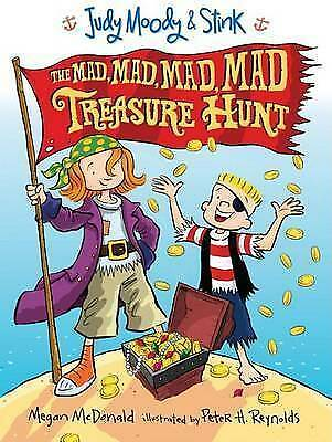 1 of 1 - Judy Moody & Stink: The Mad, Mad, Mad, Mad Treasure Hunt by Megan McDonald...