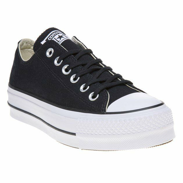 converse chuck taylor all star lift canvas color ox