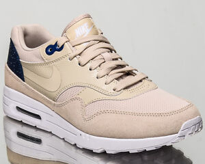 Details about Nike WMNS Air Max 1 Ultra 2.0 women lifestyle shoes NEW oatmeal blue 881104 101