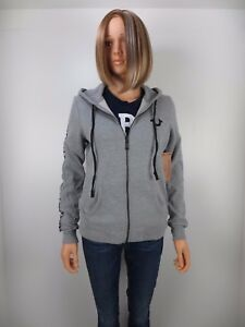f774a6efaeb Image is loading NWT-True-Religion-HORSESHOE-ACTIVE-ZIP-HOODIE-Heather-
