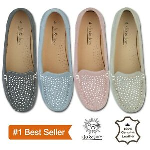 Ladies-Women-Deck-Casual-Boat-Work-Casual-Moccasins-Loafers-Slip-On-Shoe