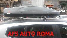 BOX AUTO ALL TIME 480+BARRE PORTATUTTO ALLUMINIO CHEVROLET ORLANDO ANNO 2013