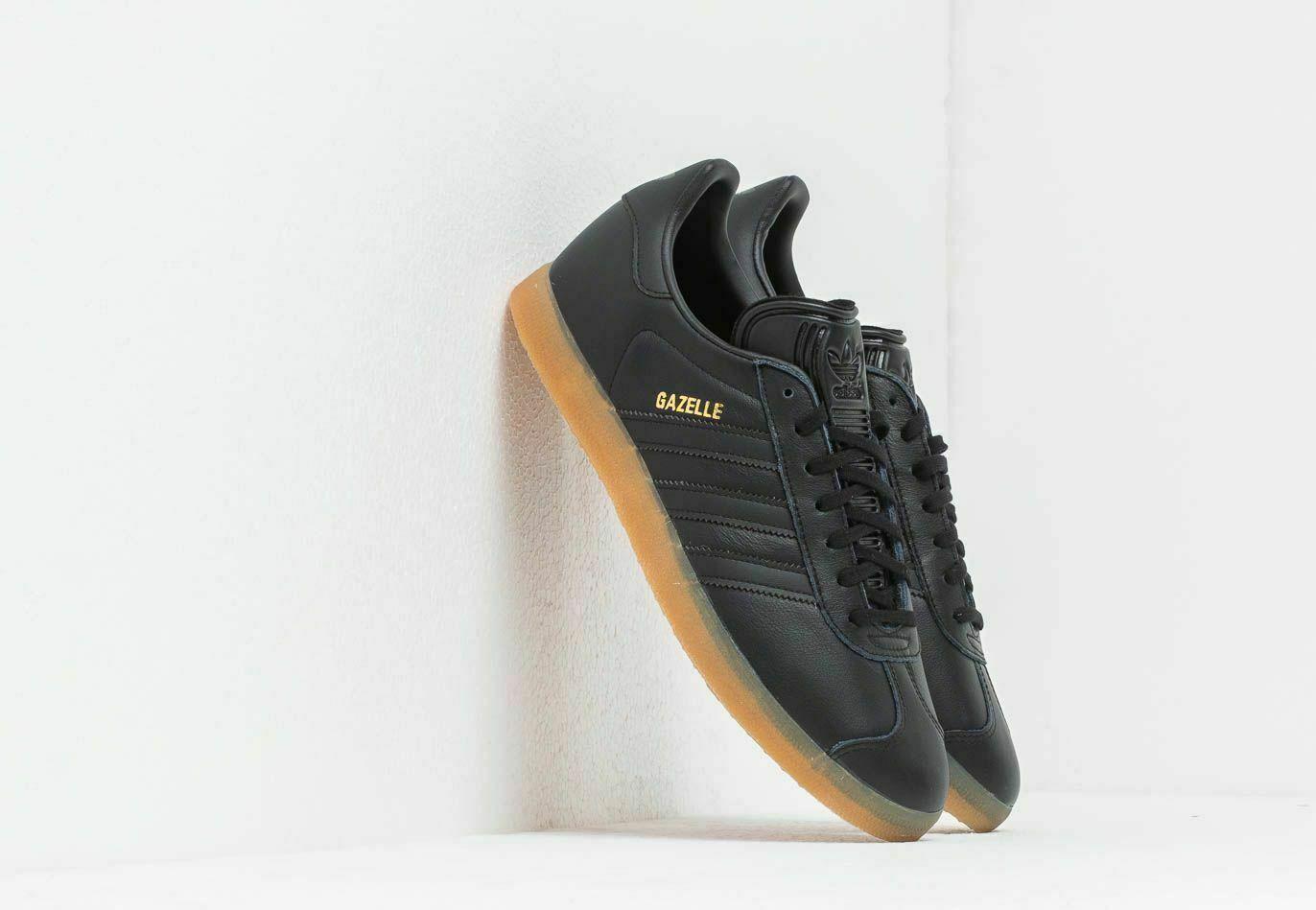 Size 9.5 - adidas Gazelle Black Gum