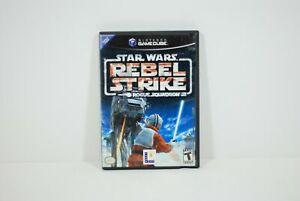 Authentic Nintendo GameCube LucasArt Star Wars Rebel Strike Rogue Squadron III 3