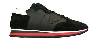 Philippe-Model-scarpe-uomo-sneaker-tropez-mondial-TRLU-WZ60-nero-bianco