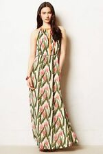 NWOT Vineet Bahl ANTHROPOLOGIE Tulip Portia maxi dress. Sz 6. SOLD OUT!!