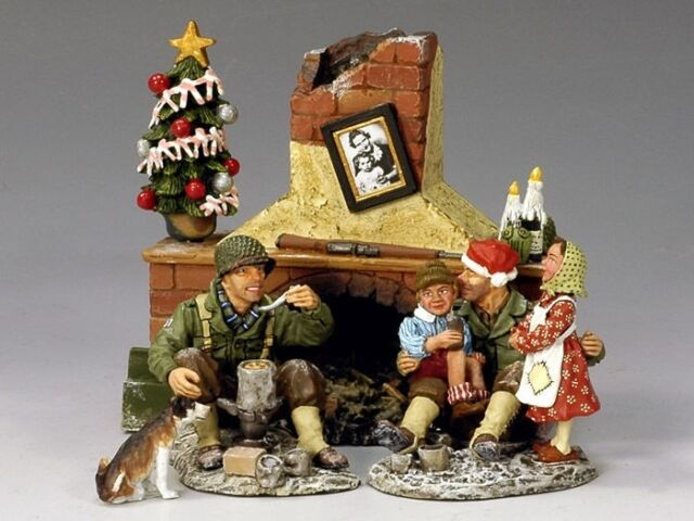King Country Wwii Last Christmas Of The War Set Le 750 Xm 008 1 Mint 2008 For Sale Online Ebay