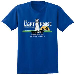 Lighthouse Lounge Goonies Inspired T-shirt - Retro 80s Eighties Movie Film Tee