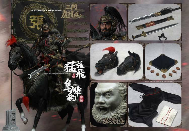 IN FLAMES FLAMES FLAMES NEWSOUL 1 6 IFT-039 Three Kingdoms Series Zhang Fei Upgraded Version cf4256