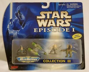 NEW-Galoob-Toys-Star-Wars-Episode-I-Micro-Machines-Collection-III-FACTORY-SEALED