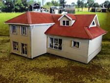 HO scale Australian style house (KIT) Rod's House Weatherboard