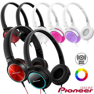 Pioneer-Headphones-Fully-Enclosed-Dynamic-Powerful-Bass-Sound-BRAND-NEW-Retail