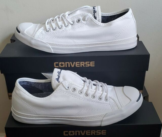 televisor Vientre taiko puerta  NEW AUTHENTIC CONVERSE JACK PURCELL LOW PROFILE L/S OX SHOE MEN'S 10.5 for  sale online