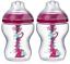 Tommee-Tippee-AAC-2x260ml-Advanced-Anti-Colic-Baby-Bottle-Heat-SENSING-girls thumbnail 1