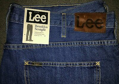 Mens lee brooklyn jeans W42 L32