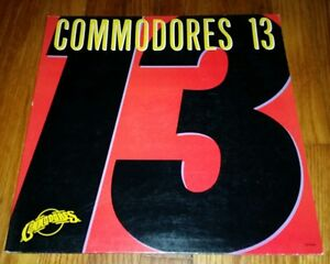 Commodores Lp 13 Near Mint Disc Motown Record Album Vinyl