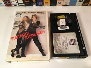 Desperately Seeking Susan Betamax NOT VHS 1985 Comedy Beta Madonna Aidan Quinn - Philadelphia, Pennsylvania, United States - Desperately Seeking Susan Betamax NOT VHS 1985 Comedy Beta Madonna Aidan Quinn - Philadelphia, Pennsylvania, United States