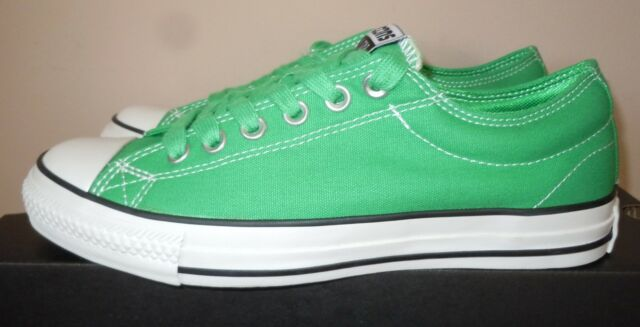 d100a9181f75 NEW MENS WOMENS CONVERSE SNEAKER SHOES CONS CTS OX GREEN 117166 LOBSTER 6.5  39.5