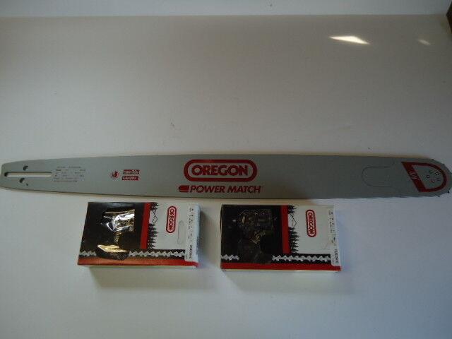 24  Oregon 240 RNDK 095 Bar & 2 Skip Tooth cadenas 455 460 555 560 XP Rancher 362XP
