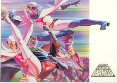 Battle Of The Planets Promo card Alex Ross BY Dynamic Forces 2002   Un Numbered