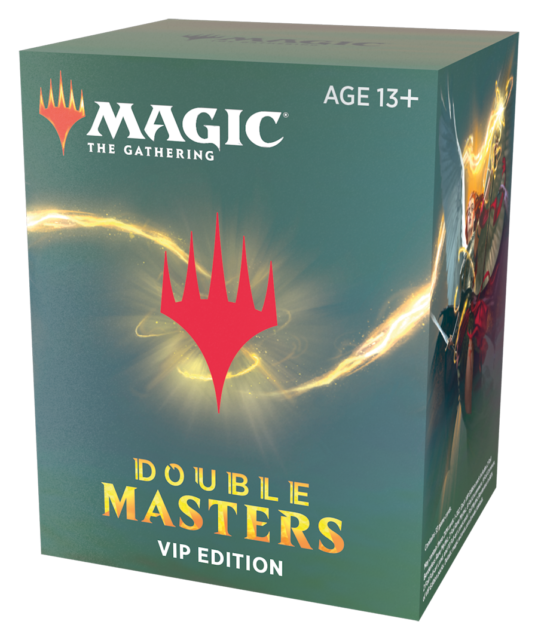DOUBLE MASTERS VIP Edition MTG Magic The Gathering SEALED Booster Box Ships NOW