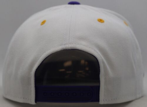 Minnesota Vikings White//Purple Reebok Snapback-MV1430