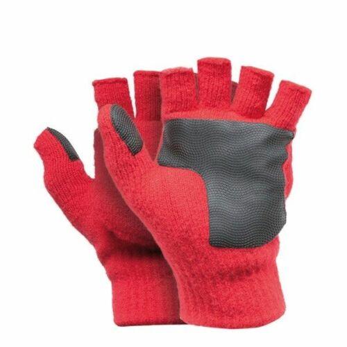 Pfanner Wollfilzhandschuhe oliv rot Handschuhe Wollhandschuhe Winterhandschuhe