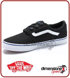 scarpe nere vans basse