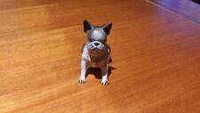 Figurine Vintage Chien « Boston Terrier » En Plastique Très Détaillé