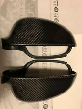 VW Golf V Mk5 GTI 2006-2008 Carbon Fiber Rear View Side Mirror Covers Caps