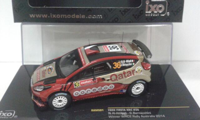 FORD FIESTA WRC #36 WINNER WRC2 RALLY AUSTRALIA 2014 AL-ATTIYAH 1/43 RAM 591