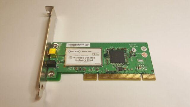 BELKIN 10//100 NETWORK ADAPTER DESKTOP PCI CARD ETHERNET P57328