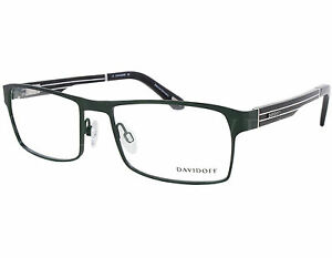 f823d64995b3 Details about NEW Davidoff DV 93041 410 55mm Green Black Optical Eyeglasses  Frames